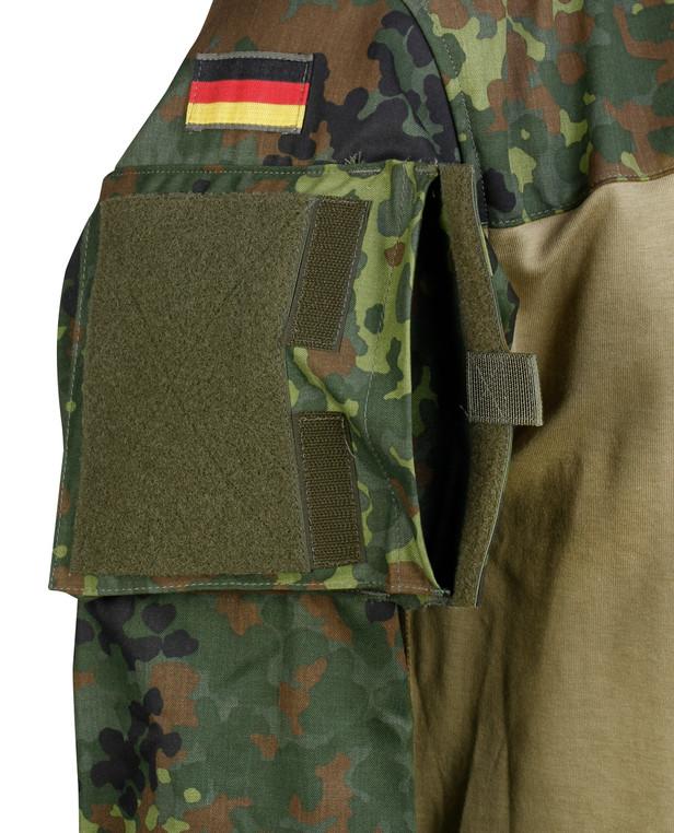 Leo Köhler Combatshirt Flecktarn