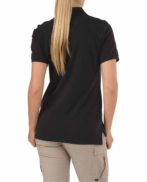 5.11 Tactical Women´s Short Sleeve Professional Polo Black