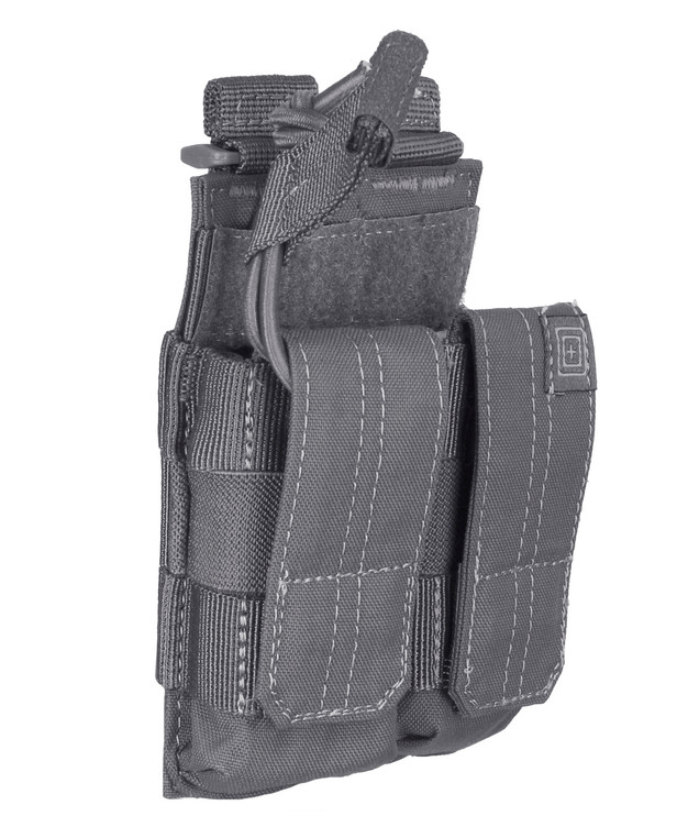 5.11 Tactical Double Pistol Bungee w/Cover Storm