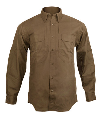 5.11 Tactical - Taclite Pro L/S Hemd Battle Brown
