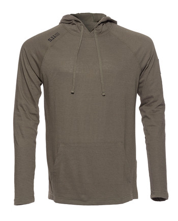 5.11 Tactical - Cruiser Performance L/S Hoodie Ranger Green