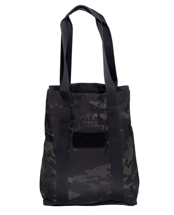 TASMANIAN TIGER - Tote Bag Multicam Black