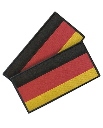 TACWRK - Woven German Flag Set of 2