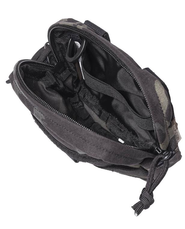 TASMANIAN TIGER TT Tac Pouch 4Horizontal Multicam Black
