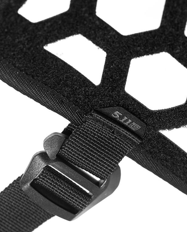 5.11 Tactical VR Hexgrid Headrest Black