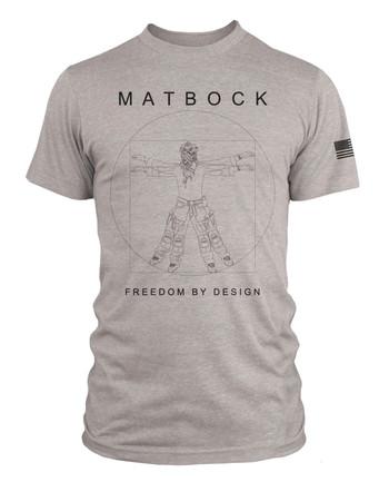 Matbock - DaVinci Operator T-Shirt Grau