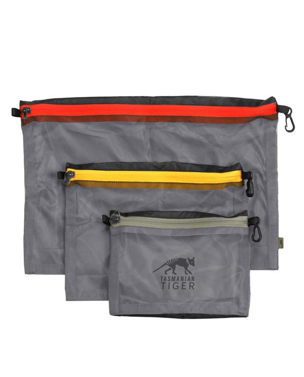 TASMANIAN TIGER Mesh Pocket Set Black Schwarz