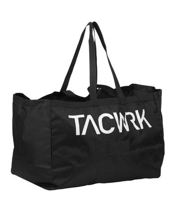 TASMANIAN TIGER - Retail Bag Tacwrk Black Schwarz