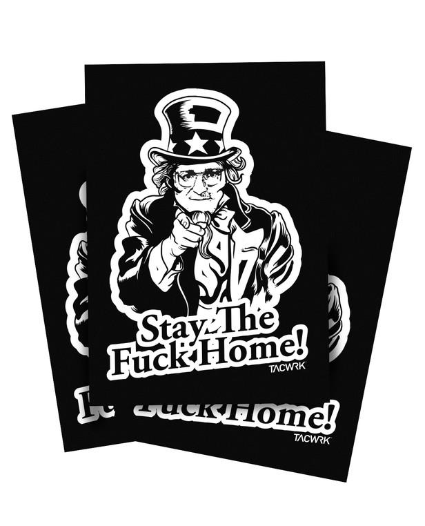 TACWRK Corona Sticker Set