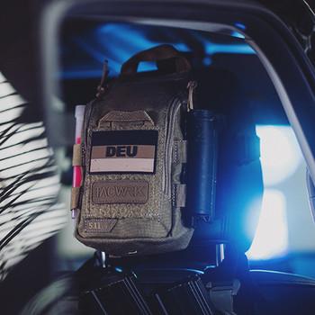 TACWRK - Deutschlandflagge DEU Patch SWAT