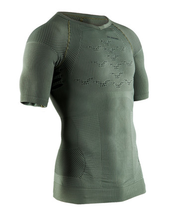 X-Bionic - Combat Energizer 4.0 Shirt Shortsleeve Olive Green/Anthracite