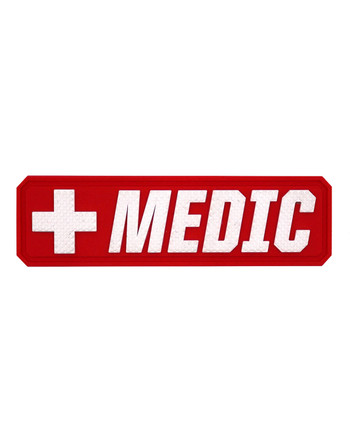 TACWRK - Medic Pouch Patch Red