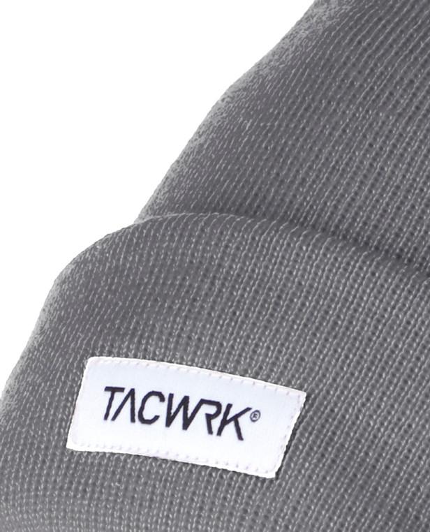 TACWRK Classic Merino Beanie Grau