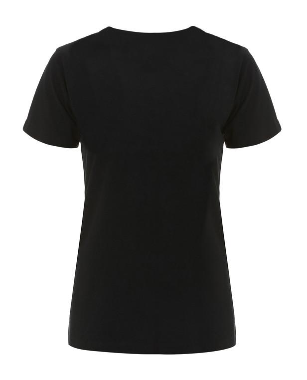 TACWRK FCK CRN Shirt Frauen Schwarz