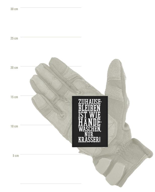 TACWRK Zuhause Händewaschen Patch