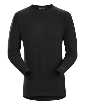 Arc'teryx LEAF - Cold WX LS Shirt AR Men's (Wool) Black