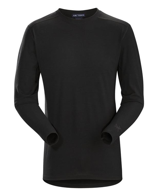 Arc'teryx LEAF Cold WX LS Shirt AR Men's Wool Black Schwarz