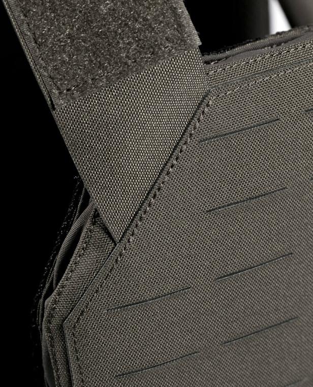 TASMANIAN TIGER TT Plate Carrier QR LC IRR Stone Grey Olive