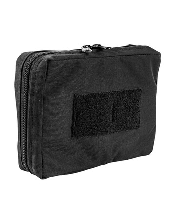 md-textil - Electronics Pouch Horizontal Black