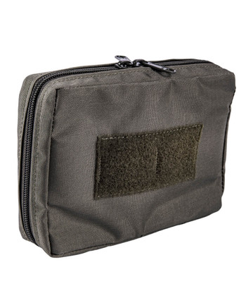 md-textil - Electronics Pouch Horizontal Stonegrey Olive