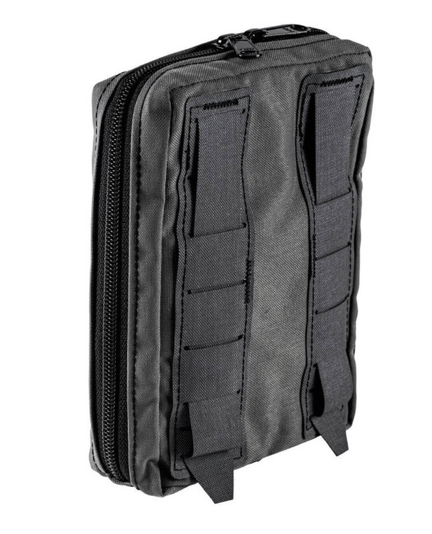 md-textil General Purpose Pouch Vertical Iron Grey