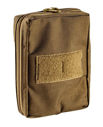 md-textil - General Purpose Pouch Vertical Coyote Brown