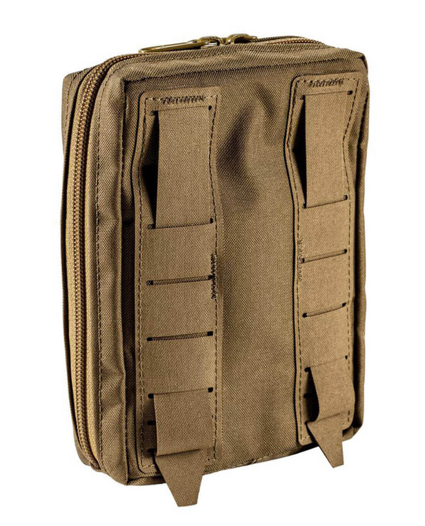 md-textil General Purpose Pouch Vertical Coyote Brown