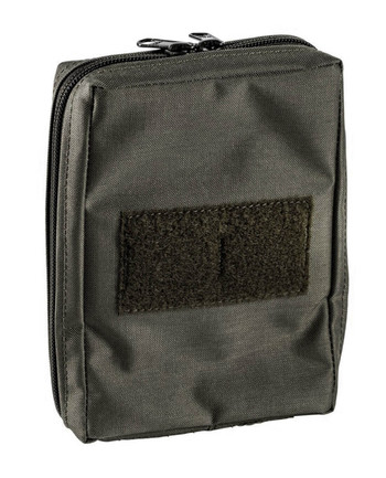 md-textil - General Purpose Pouch Vertical Stonegrey Olive