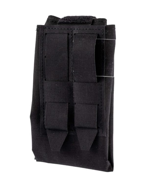 md-textil Abwurfsack Modular Schwarz