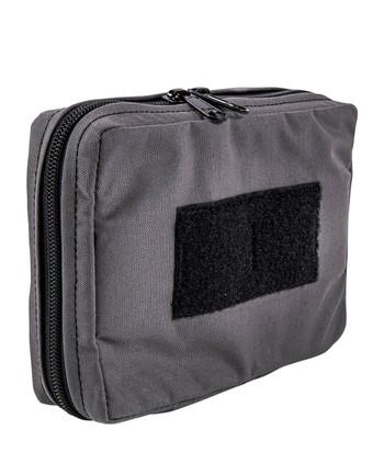 md-textil - Mehrzwecktasche Horizontal Eisengrau