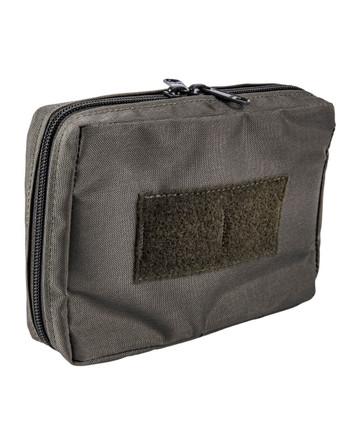 md-textil - Mehrzwecktasche Horizontal Steingrau Oliv