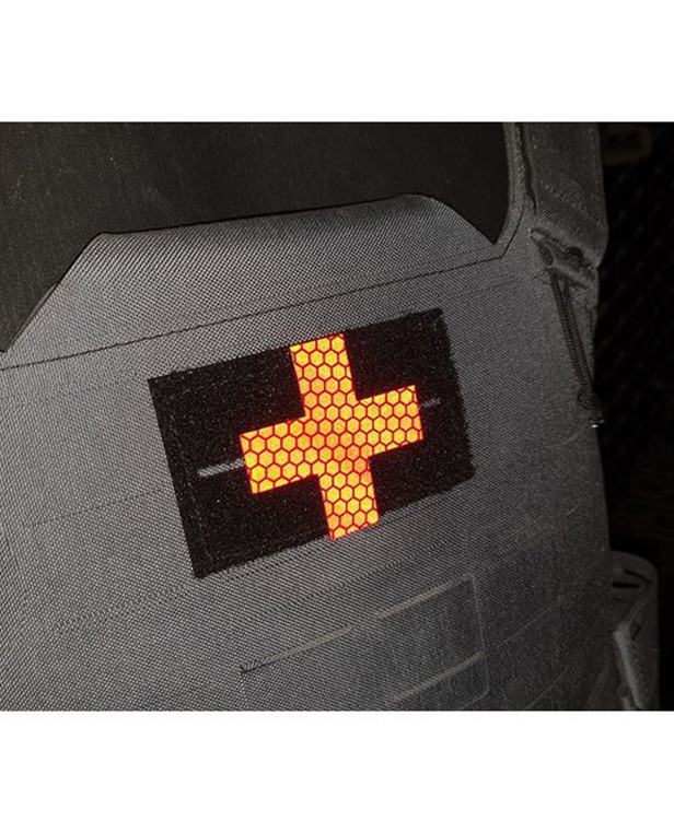 md-textil Reflexionspatch Medic Kreuz