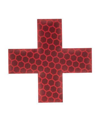 md-textil - Reflection Patch Medic Cross