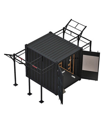 BeaverFit - FOB 10 Fitness-Container