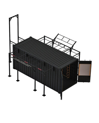 BeaverFit - FOB 20 Fitness-Container