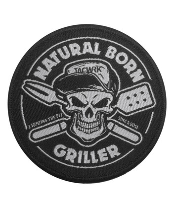 TACWRK - Natural Born Griller Patch
