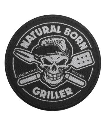 TACWRK - Natural Born Griller Patch