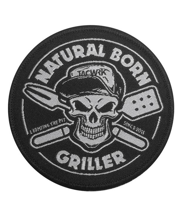 TACWRK Natural Born Griller Patch
