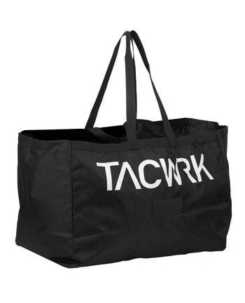 TASMANIAN TIGER - Retail Bag Tacwrk Black Schwarz