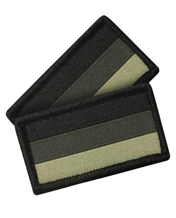 TACWRK - German Flag Set of 2  Olive