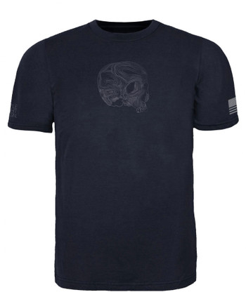 Triple Aught Design - Topo Skull T-Shirt Siege