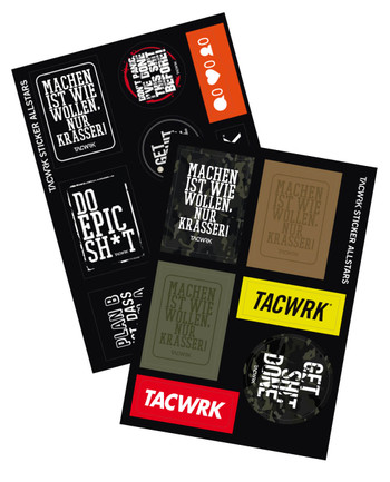 TACWRK - Sticker Allstars