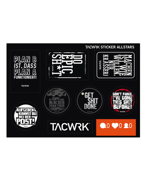 TACWRK Sticker Allstars