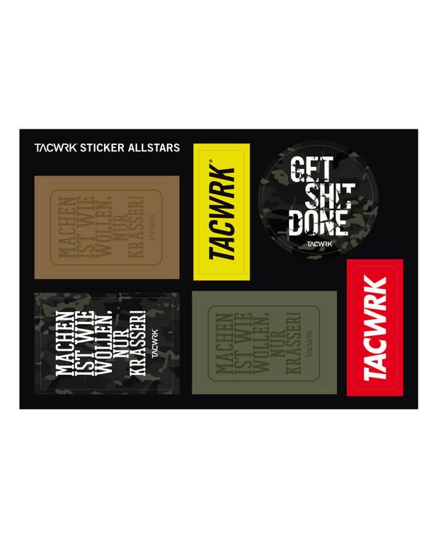 TACWRK Sticker Allstars