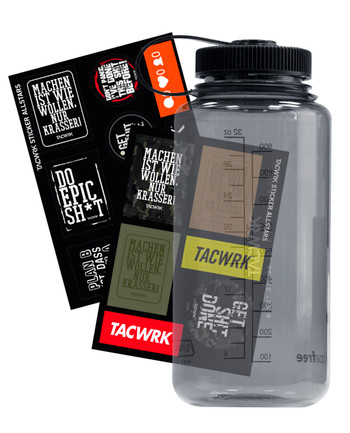 TACWRK - Nalgene Sticker Bomb Bundle
