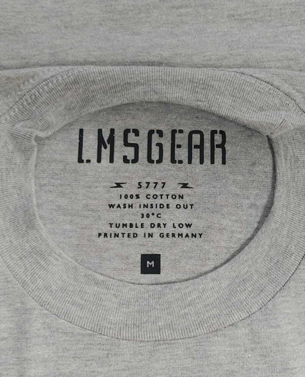 LMSGear Last Man Standing T-Shirt Grey
