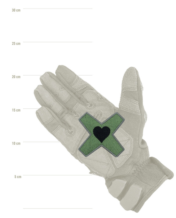 Prometheus Design Werx Heart Marks The Spot V2 Morale Patch