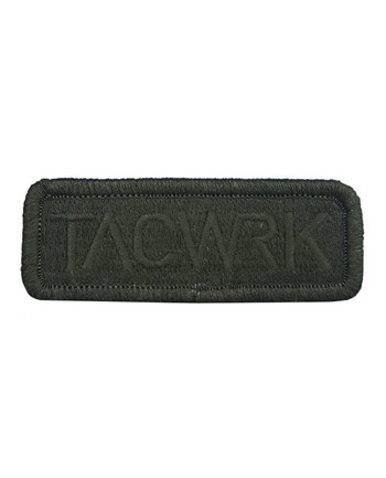TACWRK - Square Patch Olive