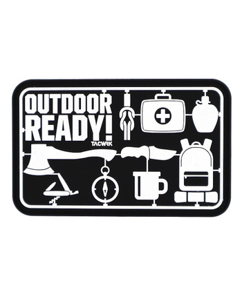 TACWRK - Outdoor Ready! Rubberpatch