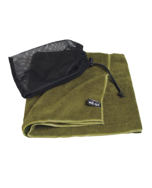 MIL-TEC Sturm Towel Microfibre 100 x 50 cm Olive
